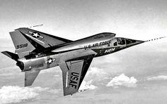 North American F-107, 1956
