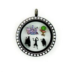 Walt Disney World Haunted Mansion Floating Charms by PandemoniumTreasures on Etsy