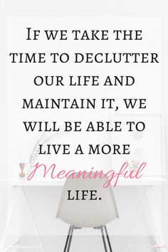 If you want to live a free, simple, and (mostly) stress-free life, you need to declutter your home. Owning too much can keep you from the life you want! ~Practigal Blog