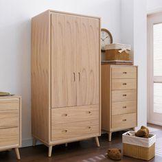 Vaness - Wardrobe with 2 wide drawers Wardrobe Furniture, Home Decor Furniture, Home Decor Bedroom, Bedroom Furniture, Diy Home Decor, Furniture Design, Bedroom Closet Design, Home Room Design, Pinterest Room Decor