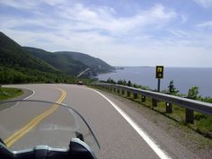 CABOT TRAIL, CANADA The trail, which winds through the island of Cape Breton, takes you past villages with French and Scottish influences and vast landscapes where you might spot wildlife from the Cape Breton Highlands National Park. Westminster, Parc National, National Parks, Cap Breton, Nova Scotia Travel, Migrate To Canada, Cabot Trail, Nature Sauvage, East Coast Road Trip