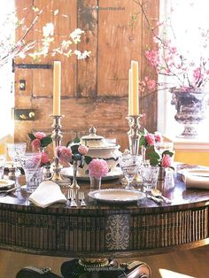 At Home With Carolyne Roehm: Carolyne Roehm: the Camellia Dinner