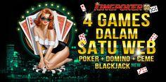 Judi Poker Online - Kingpoker99 Agen Judi Poker Online yang memberikan bonus new member sebesar 10% dan bonus cashback setiap minggu nya dan siap melayani 24jam
