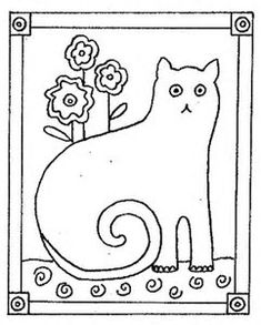 Image result for Cat Punch Needle Patterns Free