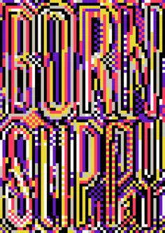 BORN SLIPPY (NUXX) - UNDERWORLD Felix Pfäffli: Type: Regatta Condensed™, ITC