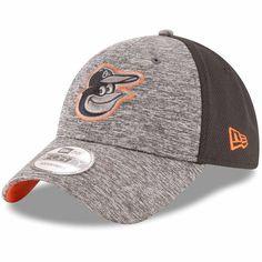 a0acfa6d9355f Baltimore Orioles New Era Shadowed Team Logo Adjustable Hat - Heathered  Gray Black