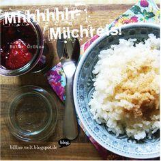 Billas Welt: Mhhhhhh...Milchreis! (MMM#38)