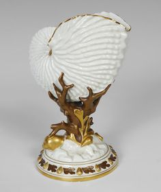 Royal Worcester Nautilus Shell, c1887