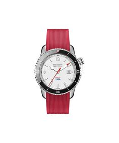 British watchmaker Bremont is the official timing partner for the America's Cup sailing race and Oracle Team USA. Pictured: Bremont Oracle I watch.