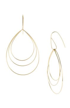 Lana Jewelry Large Triple Teardrop Earrings available at #Nordstrom