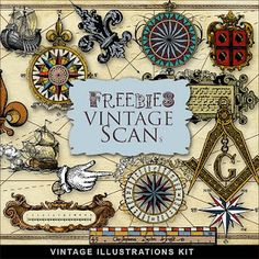 Far Far Hill Free database of digital illustrations and papers Freebies Old Maps Elements is part of Digital illustration - Vintage Maps, Antique Maps, Vintage Labels, Old Maps, Printable Paper, Map Art, Collage Sheet, Digital Illustration, Technical Illustration