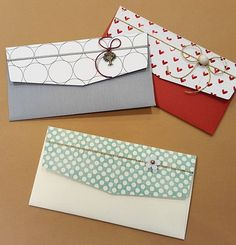 How To Make An Envelope, Envelope Design, Diy Crafts For Gifts, Craft Stick Crafts, Money Envelopes, Paper Envelopes, Shagun Envelopes, Decorated Gift Bags, Packaging