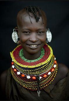 Африканские украшения самбуру и масаи из Кении