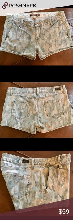 Paige Debonair Denim Shorts Used good condition see photos. PAIGE Shorts Jean Shorts