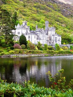 Kylemore Abbey, Connemara, Ireland- one of my favorite places I have traveled to