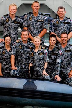 Sea Patrol - Season 5 Cast Sea Patrol, Royal Australian Navy, Call The Midwife, Old Shows, Popular Culture, Reality Tv, Favorite Tv Shows, My Hero, Famous People