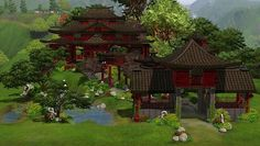 Mod The Sims - The Dancing dragon - East Asian club