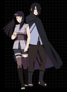 Sasuke and Hinata Shikatema, Sasuhina, Narusaku, Sasunaru, Naruto Oc, Sasuke Uchiha, Anime Naruto, Hinata Hyuga, Naruto Shippuden
