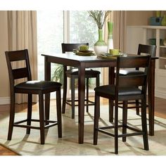 12 best tall kitchen table images diy ideas for home future house rh pinterest com tall kitchen table and chairs ikea tall black kitchen table and chairs