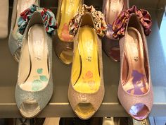 Photo by Gail Nakada. Disney Princess open-toed pumps by Ginza Diana Shoes, Tokyo.
