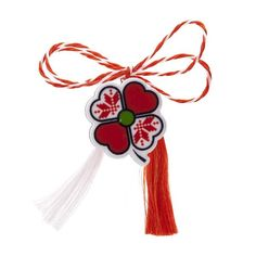 Broșă mărțișor tip pin Trifoi Norocos Baba Marta, Holiday Traditions, Beautiful Hands, Clip Art, Drop Earrings, Traditional, Christmas Ornaments, Holiday Decor, Handmade