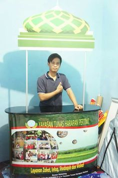Pop up counter untuk pameran