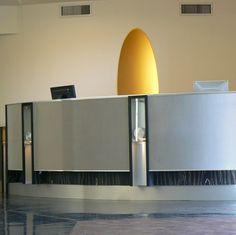 Metal reception desk - FLEXOMESH 9246 - ArchiExpo