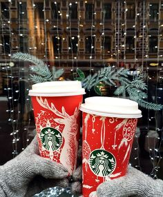 READY FOR THIS TO BE BACK || starbucks red cups\ caramel brulee + peppermint mocha + gingerbread