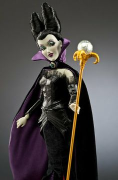 Maleficent, from Walt Disney's Sleeping Beauty, The Disney Villains Designer Doll Collection