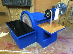 Shopmade Combination Belt-Disc Sander powered by a washing machine motor Washing Machine Motor, Workout Machines, Youtube, Timber Wood, Youtubers, Youtube Movies