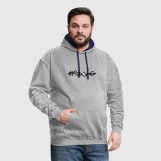 c9ad2b4fc swag Camiseta premium hombre - gris jaspeado
