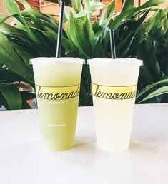 See this Instagram photo by @happilyeverallen • Lemonade. Lemonade LA. Coconut Apple lemonade. Cucumber mint lemonade. Places to eat in LA.