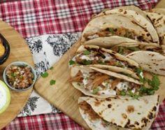 Tacos de bondiola braseada