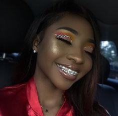 Orthodontic Braces - Orthopedic Braces, Body Braces and Leg Braces have been moved to daddysbracesobods - Braces Cute Braces Colors, Cute Girls With Braces, Braces Girls, Glam Makeup, Beauty Makeup, Hair Makeup, Hair Beauty, Eye Makeup, Baddie Makeup