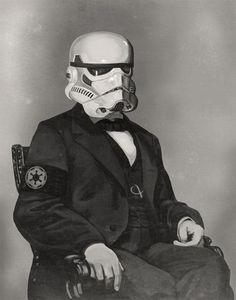 Classy stormtrooper