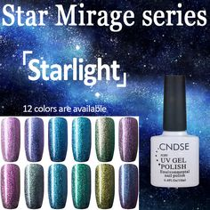 Starlight Series 12 Colour UV Gel Nail Polish Chameleon Gel UV Magnetic Nail Polish Need Black Base Coat Nail Glue Magnetic Nail Polish, Uv Gel Nail Polish, Uv Gel Nails, Acrylic Nails, Glue On Nails, Artificial Nails, Base Coat, Nail Tools, Chameleon