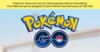 Pokémon Go: tutte le palestre sono in fase di aggiornamento. Tante nuove funzioni stanno per arrivare