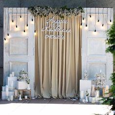 Для этой свадьбы мы органично переплели рустикальный стиль, винтаж и шебби-шик. Очень нежно и легко Концепция и декор @good_design_kz Флористика @botanica_almaty