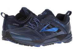 Brooks Cascadia 11 GTX (Dress Blues/Electric Brooks Blue/Black) Men's Running Shoes