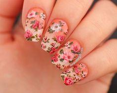 Shabby Chic  Nails?????