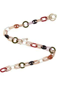 Acrylic chain-link belt