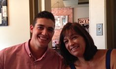 Happy Mother's Day! Kyle Lobstein and his mom!