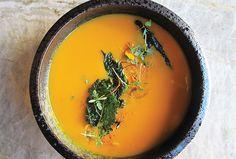 Kabocha Soup w/Pistachios & Ginger: 2 kabocha squash, 2 tbsp of...http://ospa.me/1uivcrg  @Parallel37 @RitzCarlton