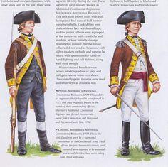 American; Sherburne's Additional Continental Regiment, Private & Colonel, 1777