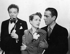 """The Maltese Falcon"" Peter Lorre, Mary Astor, Humphrey Bogart 1941 Warner Brothers"