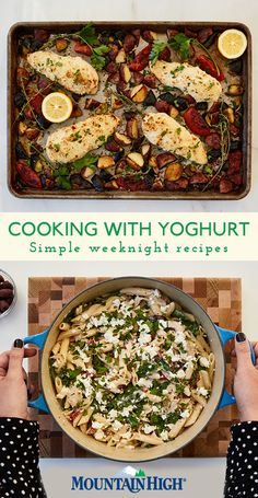 Mix up mealtime with a week of yoghurt-inspired recipes that collectively use an entire tub of yoghurt. No food waste, just a simple and delicious meal plan that will bring new life to your dinner table. Discover all you can do with Mountain High yoghurt and make this the week you Finish The Tub.