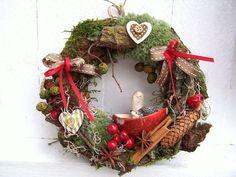 Winter Christmas, Christmas Home, Christmas Wreaths, Christmas Crafts, Xmas, Tree Decorations, Christmas Decorations, Holiday Decor, Nature Crafts