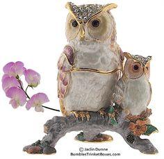 Trinket Box: Owls