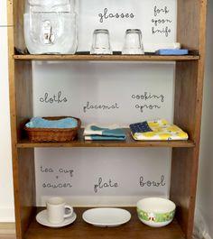 Beau's Kitchen Shelf | Belle + Beau Montessori