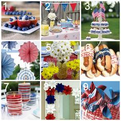 memorial day celebration ideas | Memorial Day party ideas, crafts, decorations, food ideas, activities ...